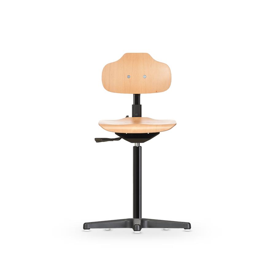 Židle ECONOLINE WS 2111, dřevěná, s kluzáky