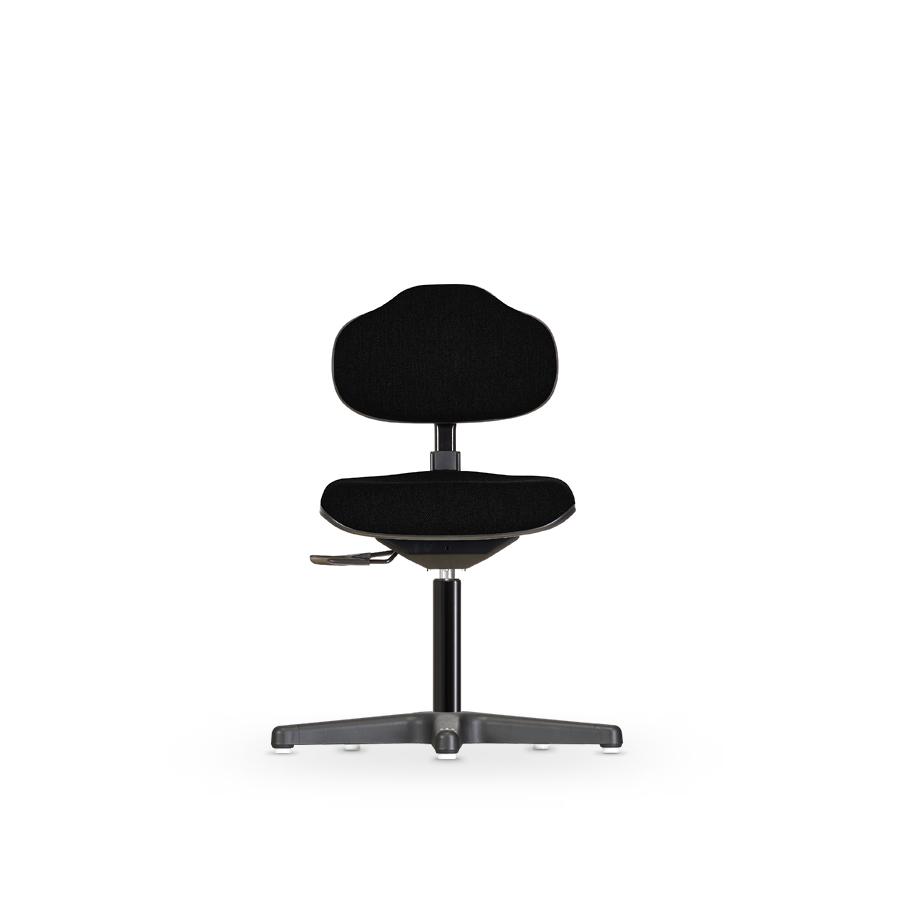 Židle ECONOLINE WS 2310, polstrovaná, s kluzáky