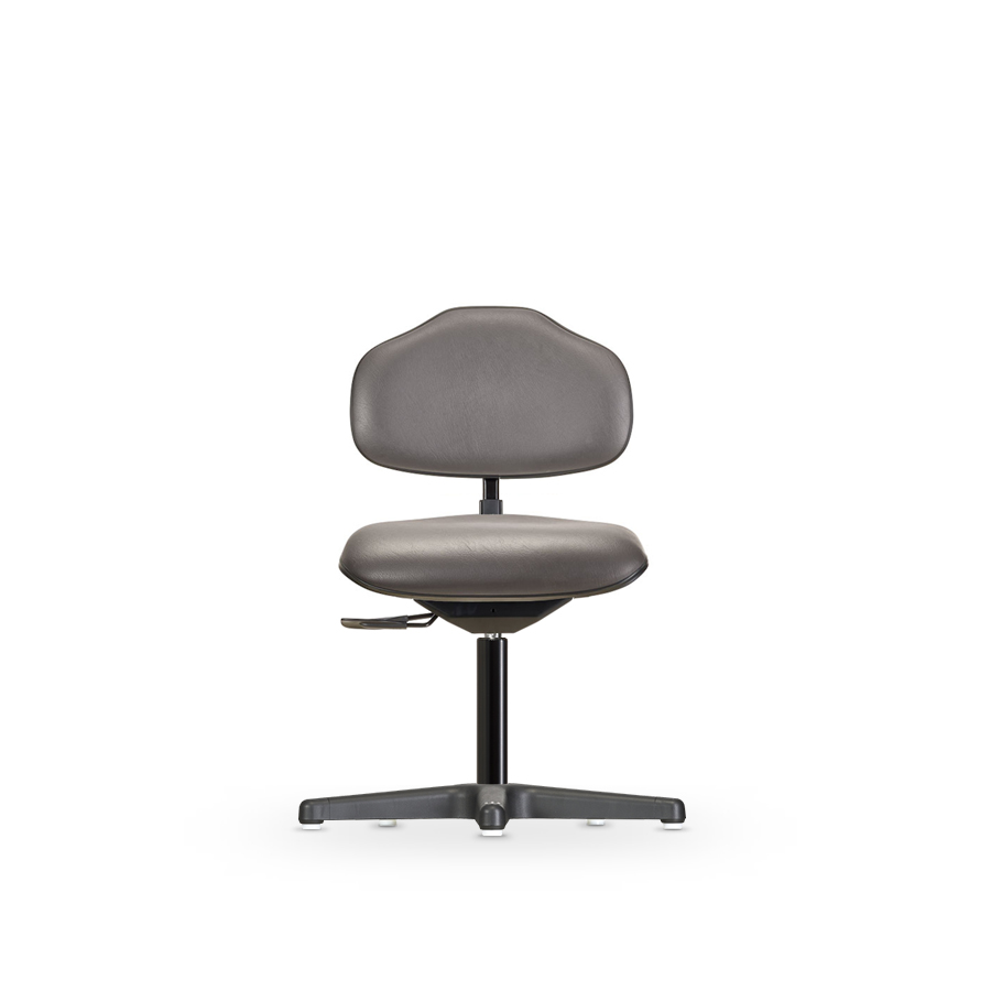 Židle ECONOLINE WS 2310 KL , koženková, s kluzáky