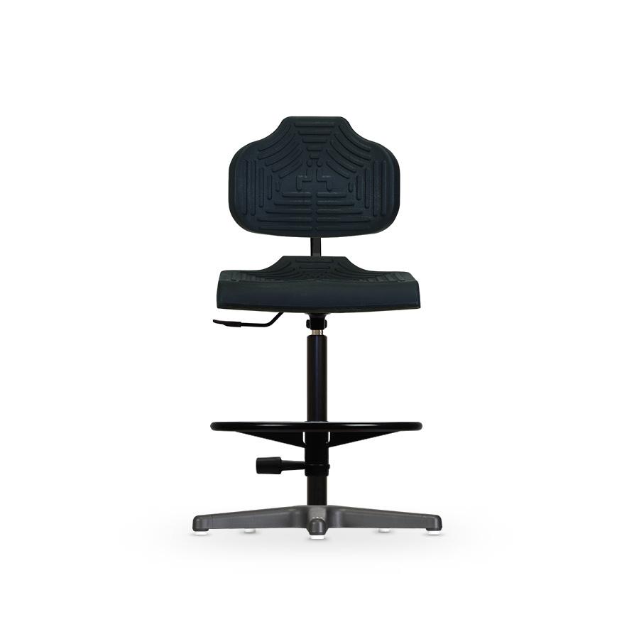 Židle BASIC WS 7211, polyuretanová, s kluzáky, vysoká