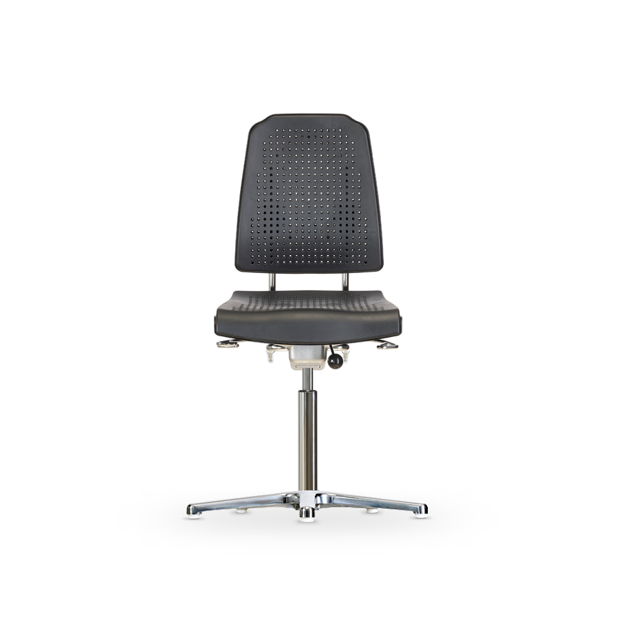 Židle KLIMASTAR WS 9210, polyuretanová, s kluzáky