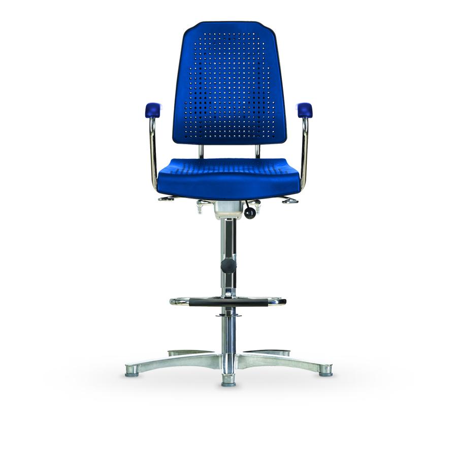 Židle KLIMASTAR WS 9211, polyuretanová, s kluzáky, vysoká