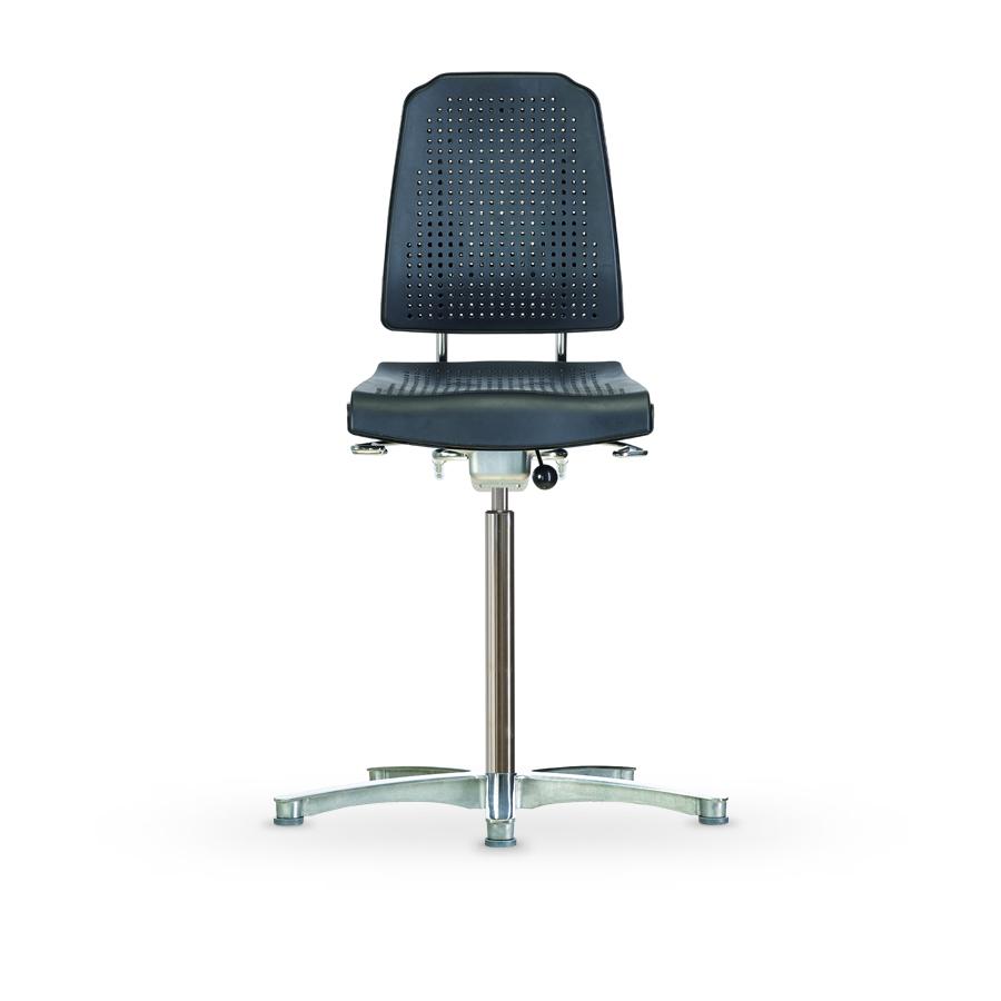 Židle WERKSITZ KLIMASTAR WS 9211 ESD, polyuretanová, s kluzáky, vysoká