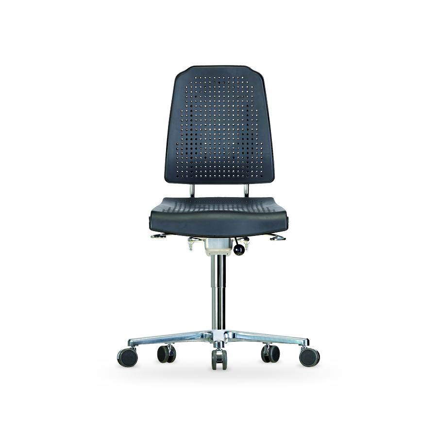 Židle KLIMASTAR WS 9220, polyuretanová, s kolečky