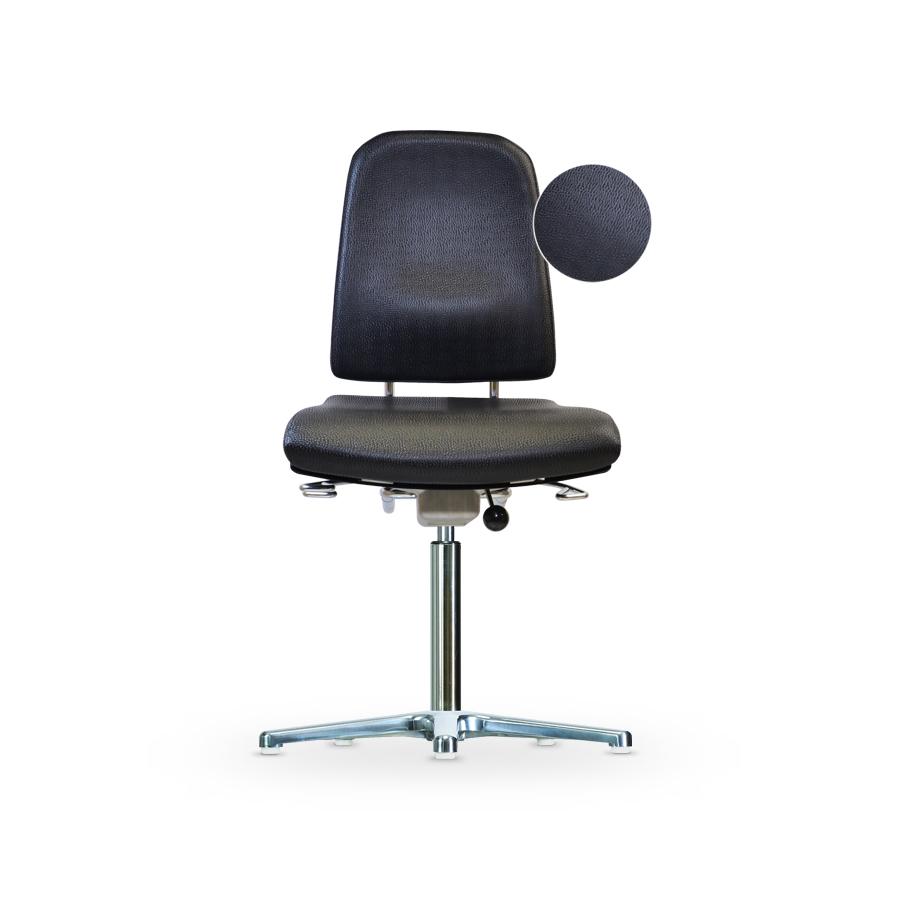 Židle KLIMASTAR WS 9310 KL, koženková, s kluzáky