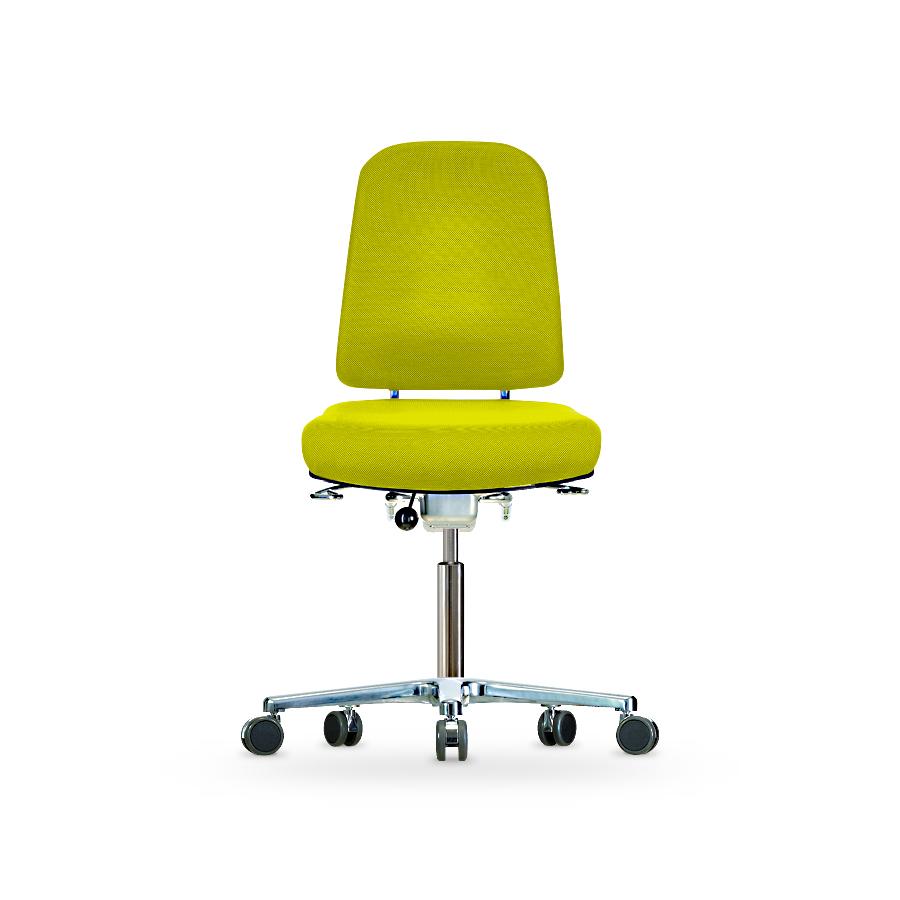 Židle KLIMASTAR WS 9320, polstrovaná, s kolečky
