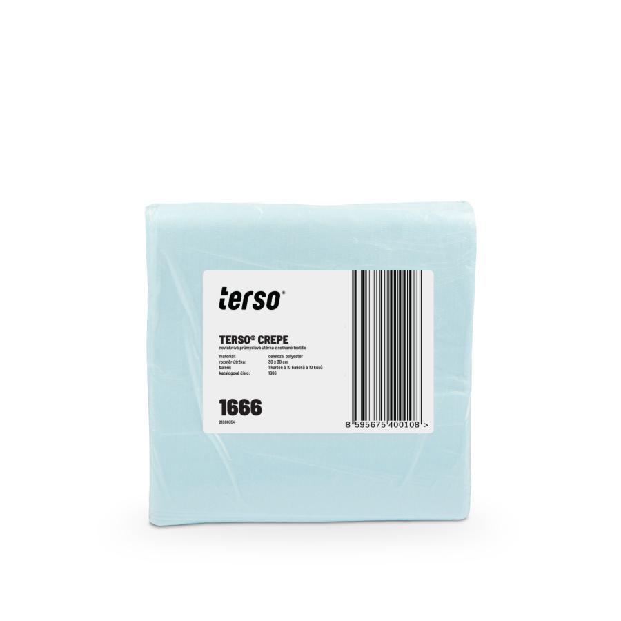 Netkané utěrky TERSO Crepe | 10 x 100 utěrek