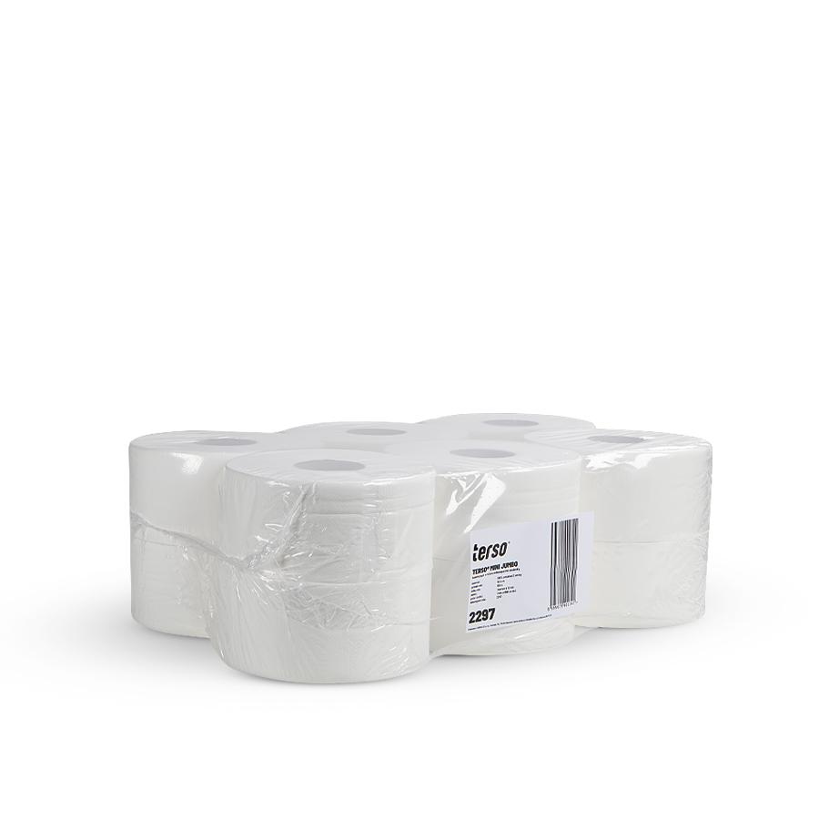 Toaletní papír TERSO MINI JUMBO | 12 x 890 útržků