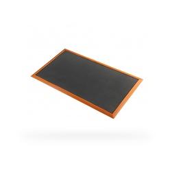 Rohož SORB STANCE, nitril, 91 x 316 cm; černá/oranžová
