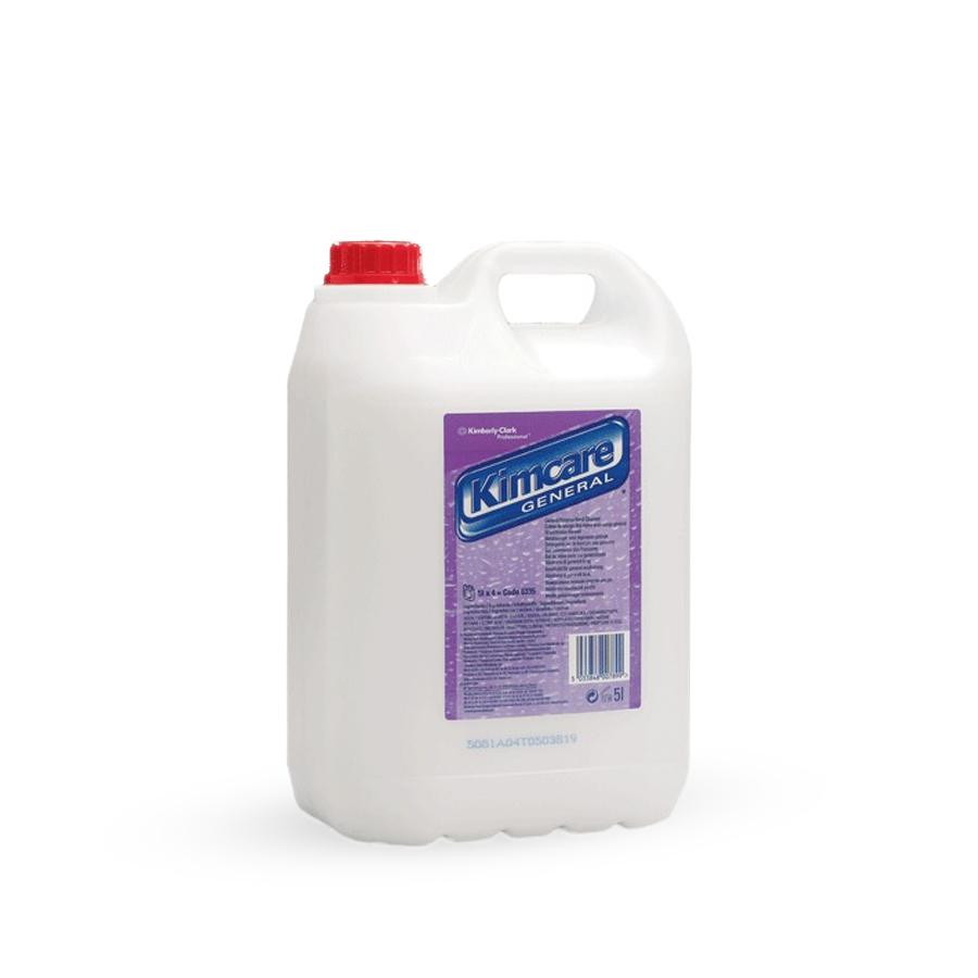 Mýdlo tekuté GENERAL, bílé,  4 x 5 l kanystr