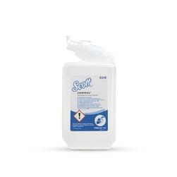 Mýdlo pěnové  KC SCOTT CONTROL, antibakteriální, 6 x 1 l kazeta, čiré
