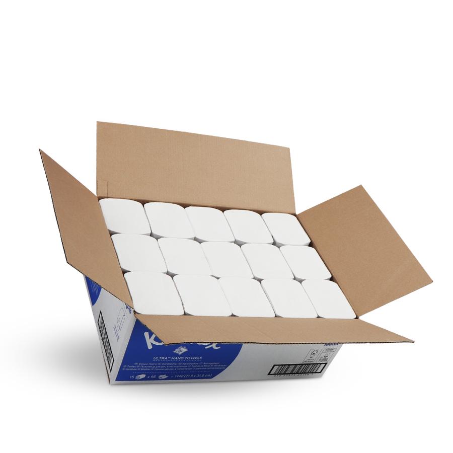 Kleenex® Ultra bílá | 15 x 96 ručníků