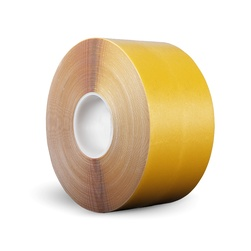 Páska P-Route, 100 mm x 30 m, žlutá, vyznačovací, PVC, tloušťka 0,96 mm
