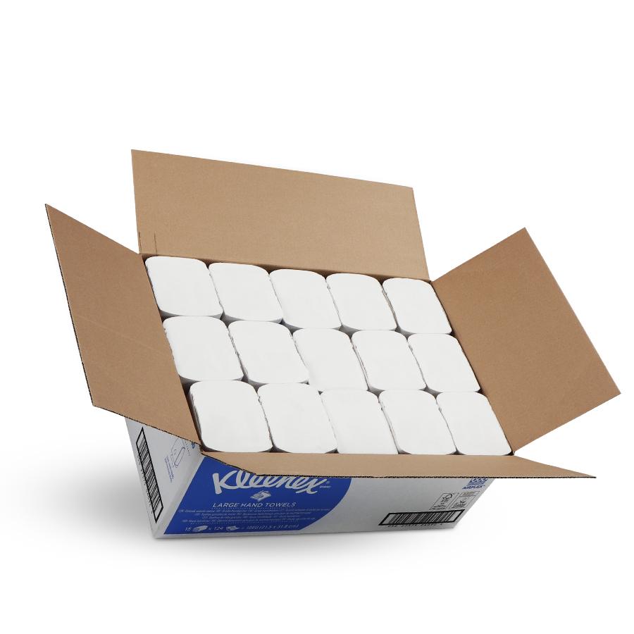Kleenex® Ultra bílá | 15 x 124 ručníků
