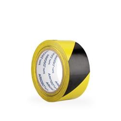 Páska ARIOSO TAPE 50 mm x 33 m, černožlutá, vyznačovací