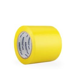 Páska ARIOSO TAPE 100 mm x 33 m, žlutá, vyznačovací