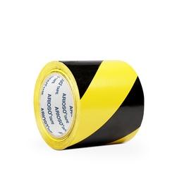 Páska ARIOSO TAPE 100 mm x 33 m, černožlutá, vyznačovací