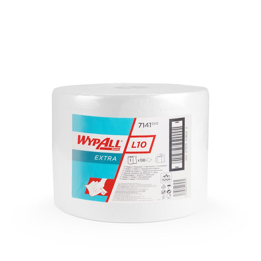 Papírové utěrky WypAll® L10 EXTRA | 1 x 1500 útržků
