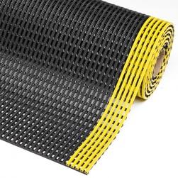Rohož  Flexdek , 0,91 x bm, PVC, černá/žlutá