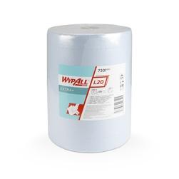 Papírové utěrky WypAll L20 EXTRA+ modrá, velká role | 1 x 500 útržků