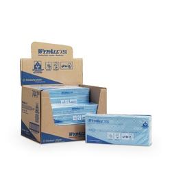 Netkané utěrky WypAll® X50 modrá | 6 x 50 utěrek