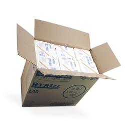 Papírové utěrky WypAll L40 bílá | 18 x 56 utěrek