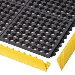 Rohož ARIOSO VENT NT, modul 0,91 x 0,91 m, pryž, černá