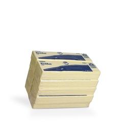 Netkané utěrky WypAll® X80 žlutá | 10 x 25 utěrek