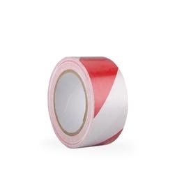 Páska ARIOSO TAPE 50 mm x 33  m, bílo/červená, vyznačovací,