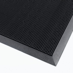 Rohož FINGERTIP NT, 0,8 x 1,0 m, černá