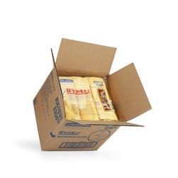 Netkané utěrky WypAll® Microfiber žlutá | 4 x 6 utěrek