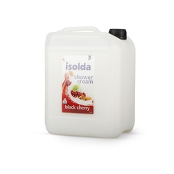 Gel sprchový ISOLDA black cherry, 5 l kanystr, bílý