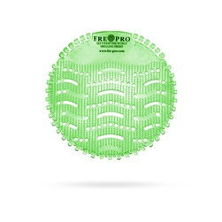 Sítko voňavé do pisoáru CUCUMBER MELON, zelená, 2 ks