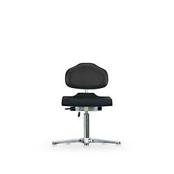 Židle CLASSIC WS 1210, polyuretan/koženka, s kluzáky
