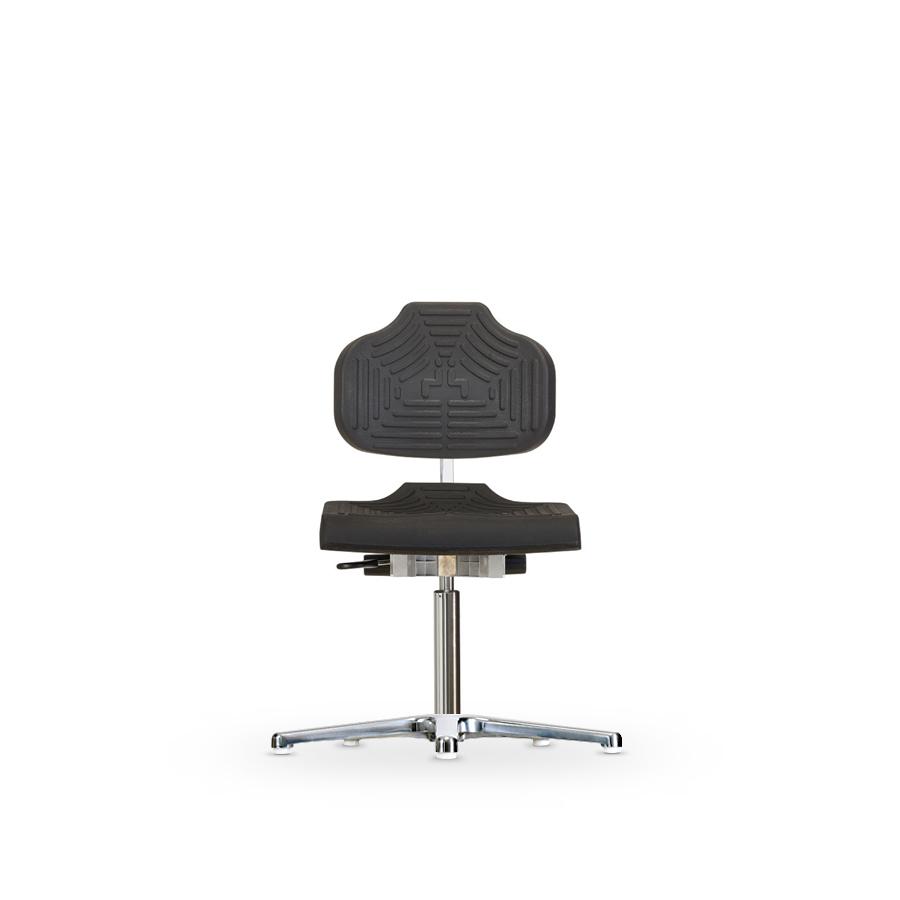 Židle CLASSIC WS 1210 E, polyuretanová, s kluzáky