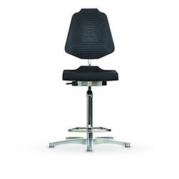 Židle CLASSIC WS 1211 E XL, polyuretanová, s kluzáky, vysoká