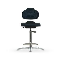 Židle CLASSIC WS 1211 GMP, polyuretanová, s kluzáky, vysoká