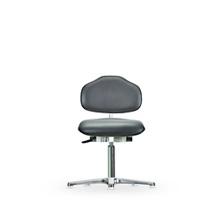 Židle CLASSIC WS 1310, polstrovaná, s kluzáky