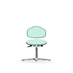 Židle CLASSIC WS 1310 KL, koženková, s kluzáky