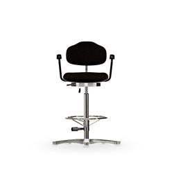 Židle CLASSIC WS 1311, polstrovaná, s kluzáky, vysoká