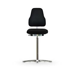 Židle CLASSIC WS 1311 XL Ergo, polstrovaná, s kluzáky, vysoká