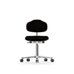 Židle CLASSIC WS 1320, polstrovaná, s kolečky