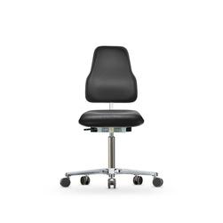 Židle Classic WS 1320 KL XL Ergo, koženková, s kolečky