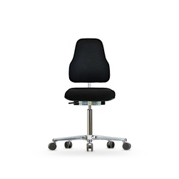 Židle CLASSIC WS 1320 XL Ergo, polstrovaná, s kolečky