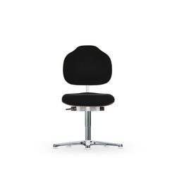 Židle CLASSIC WS 1610 ESD, polstrovaná, s kluzáky