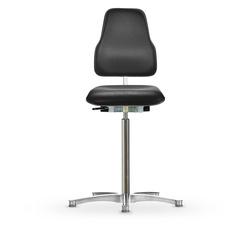Židle CLASSIC WS 1611 KL ESD XL Ergo, koženková