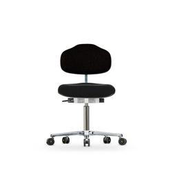 Židle CLASSIC WS 1620 ESD, polstrovaná,  s kolečky