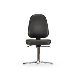 Židle CLEANROOM  WS 1710 RR ESD, koženková, s kluzáky