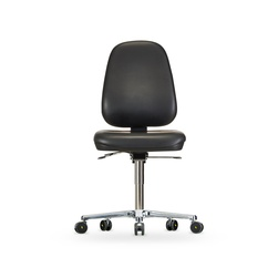 Židle CLEANROOM WS 1720 RR ESD, koženková, s kolečky