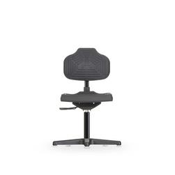 Židle ECONOLINE WS 2210, polyuretanová, s kluzáky